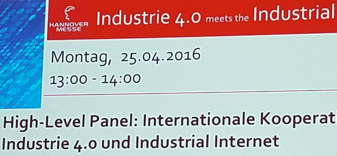 Industry 4.0 - It's real, it's visible, and it's going to change the world