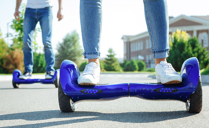 Photo of hoverboards