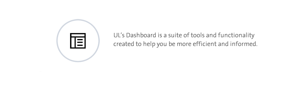 UL Dashboard