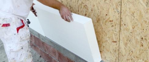 Plastic and foamed plastic building materials