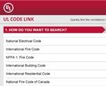 UL Code Link