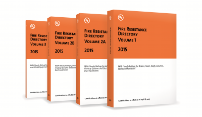 UL Fire Resistance Directory Set