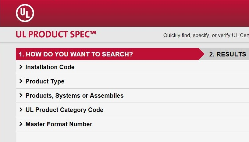 UL Search Tool Delivers the Right Product to Fit the Code