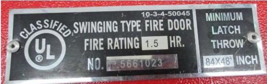 Fire door 5