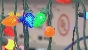 UL holiday lights testing