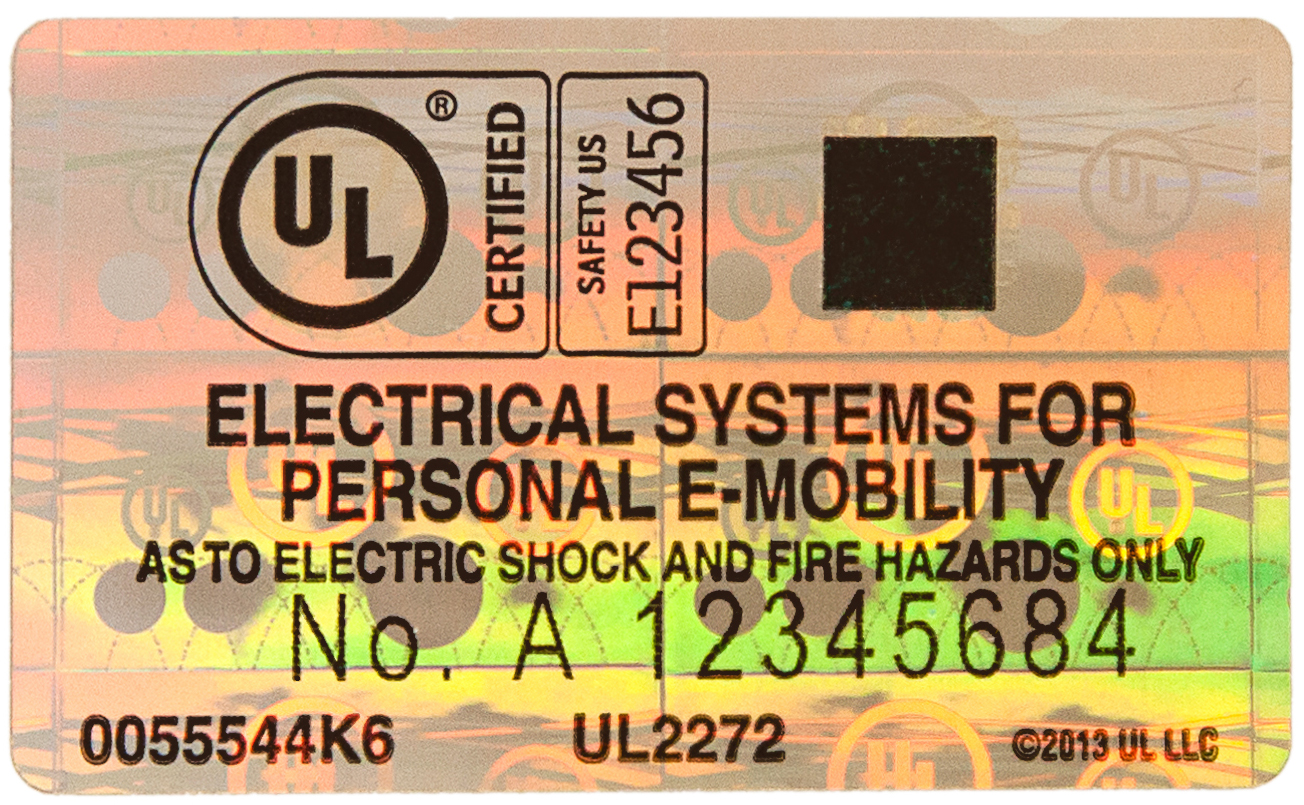 Certification For Next Generation Personal E Mobility Ul