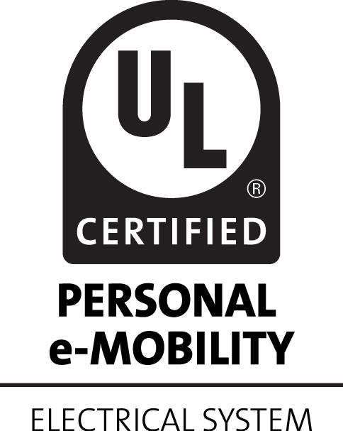 UL Personal e-Mobility mark