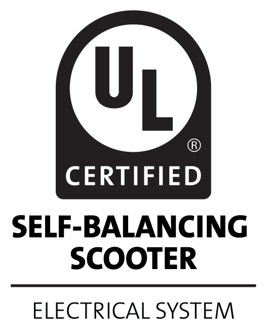 Certification for next generation personal e mobility ul selfbalance black vertical fandeluxe Choice Image