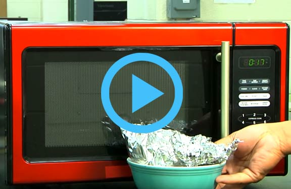 Video: Microwave Spark Demo