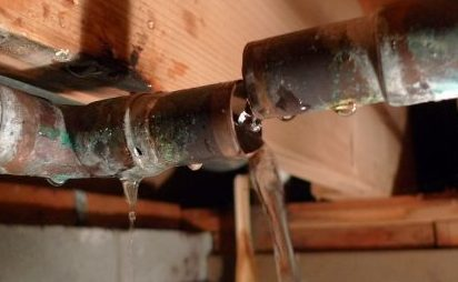 Not a Drop of Water in Sight—Water Leak Detectors on the Job