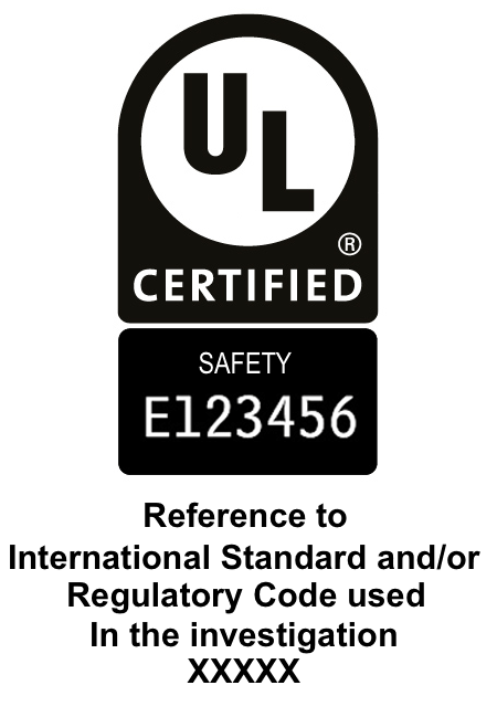 Ul certification bodies any enhanced marking with all of the following elements fandeluxe Gallery