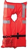 orange offshore lifejacket