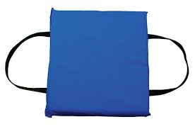 royal blue throw-able life preserver