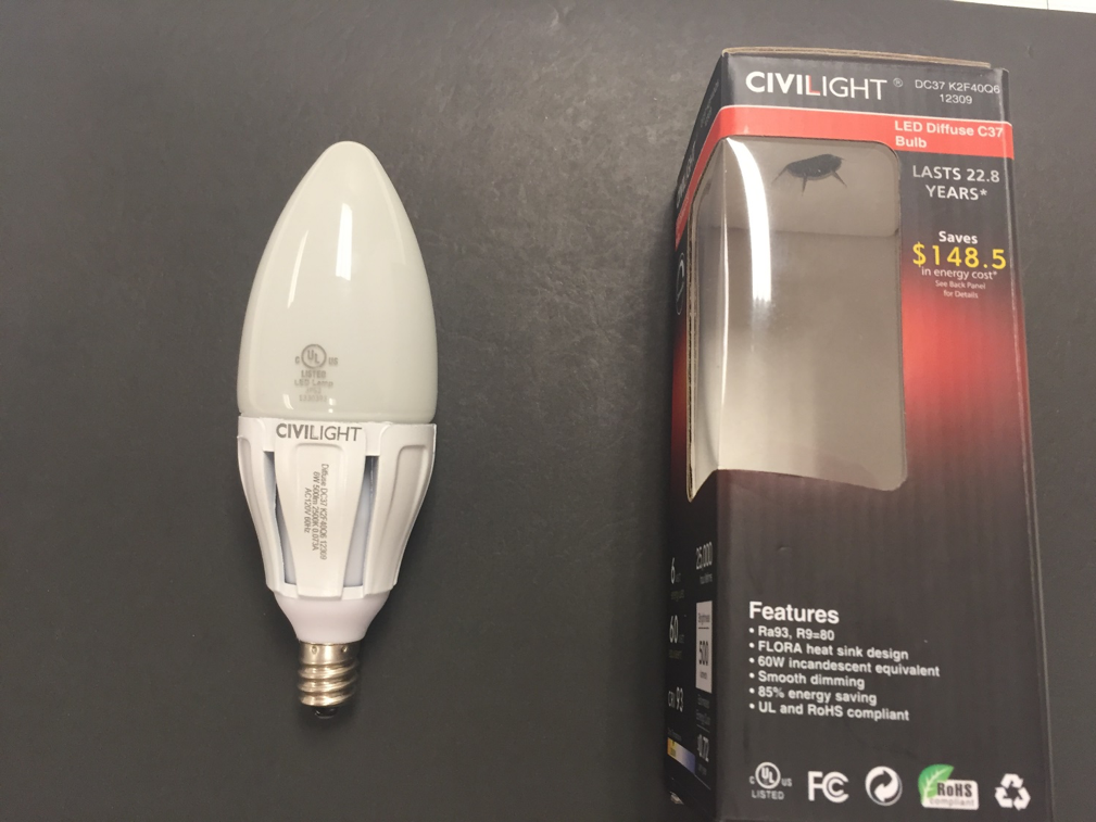 ul warns of unauthorized ul mark on civilight led lamps release
