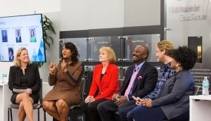 Panel picture of Gitte Schjotz,; Dorri McWhorter; Marla Gottschalk; George Williams; Aaron Lawlor; Wendy Lewis