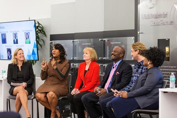 Panel picture of Gitte Schjotz,; Dorri McWhorter; Marla Gottschalk; George Williams; Aaron Lawlor; Wendy Lewis