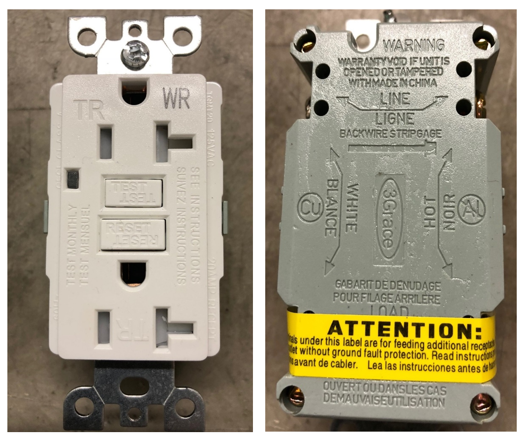 Safety Ground Fault Circuit Interrupters Wiring And Ul Warns Of Counterfeit Marks On Interrupter Powerbar