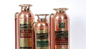Early fire extinguishers with UL Mark