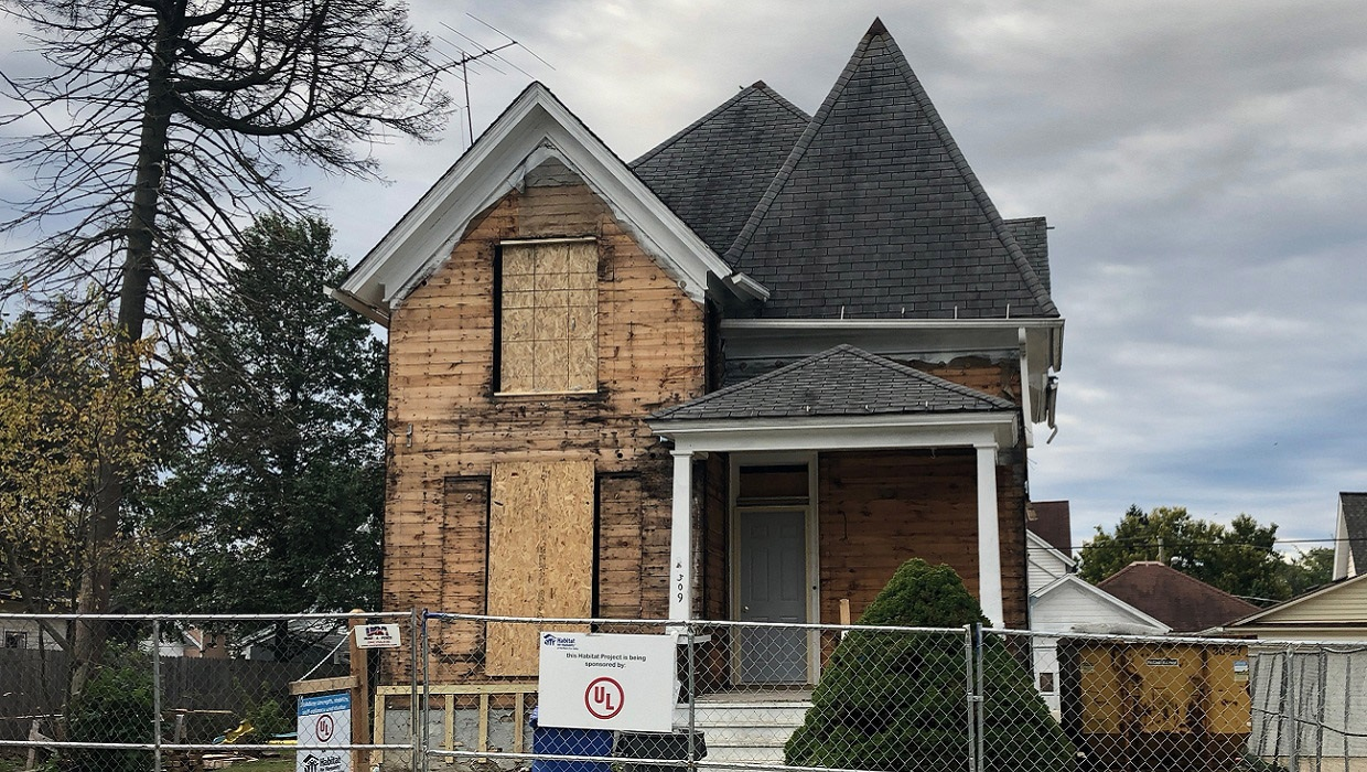 UL teams up to renovate home steeped in history