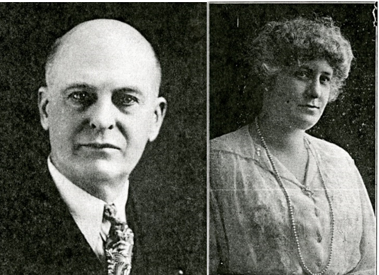 George Midgley and Lulu (Haase) Midgley. From Watch World Magazine, Christmas 1938 and July 1926, respectively.