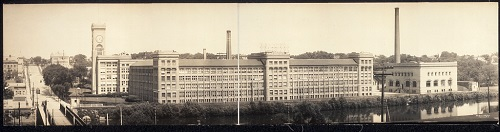 Elgin Watch Factory, ca. 1914. The Elgin Watch Factory was operated by the Elgin National Watch Company. The factory opened in 1866, and it was demolished in 1968. Over the years, thousands of Elgin residents worked here, and it played a central role in Elgin's economy and community.