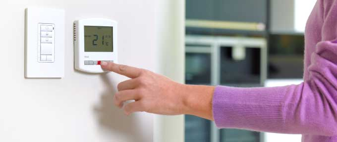 Be energy efficient