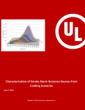 Characterization of Smoke Alarm Nuisance Sources from Cooking Scenarios
