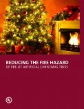 Reducing the Fire Hazard of Pre-Lit Artificial Christmas Trees