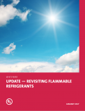 Update - Revisiting Flammable Refrigerants