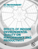Effects of Indoor Environmental Quality on Performance and Productivity
