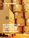 Big Benefits of Jumping into Sustainable Procurement