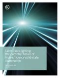 Laser diode lighting: the potential future of high-efficiency solid-state illumination